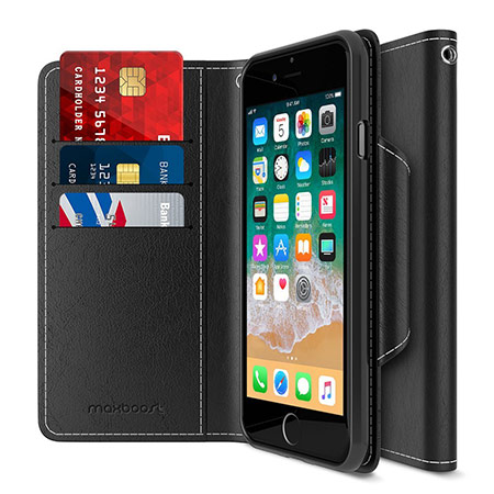 best iphone 8 wallet case from maxboost