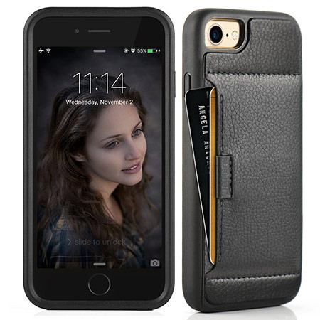 best iphone 8 wallet case from zve