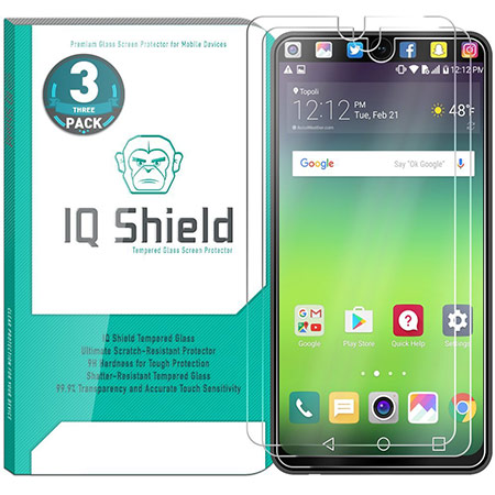 best lg v30 screen protector from iqshield