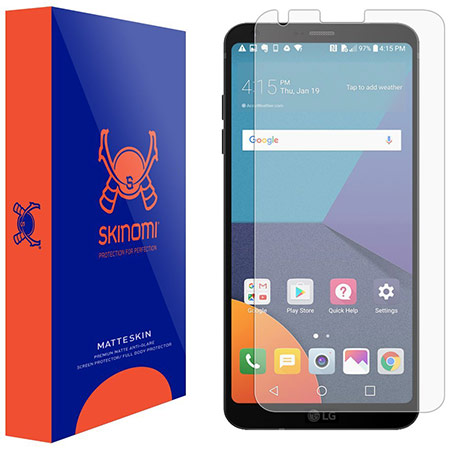 best lg v30 screen protector from skinomi