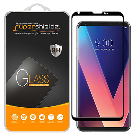 best lg v30 screen protector from supershieldz