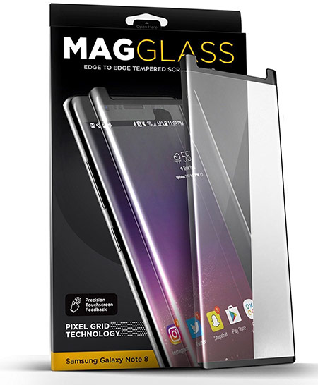 best samsung galaxy note 8 screen protector from encased