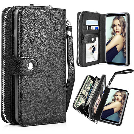 best samsung galaxy note 8 wallet case from pasonomi