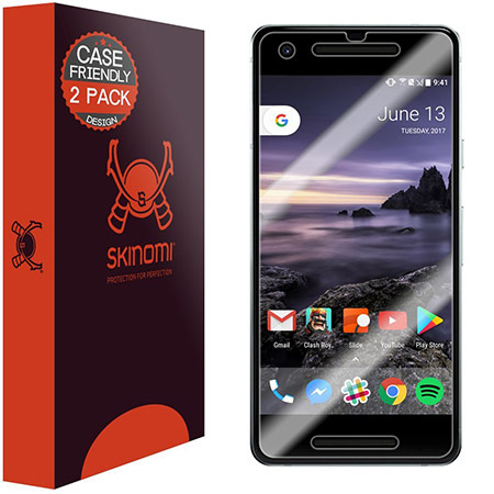 best google pixel 2 screen protector from skinomi