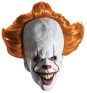 best halloween items pennywise mask