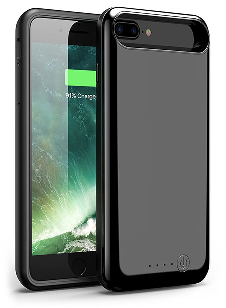 best iphone 8 plus battery case from foxin