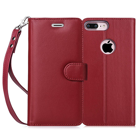 best iphone 8 plus leather case from fyy