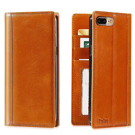 best iphone 8 plus leather case from ipulse
