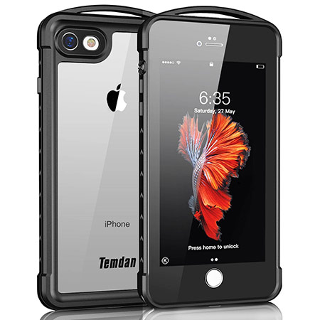 best iphone 8 waterproof case from temdan