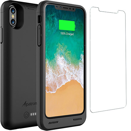 best iphone x battery case from alpatronix