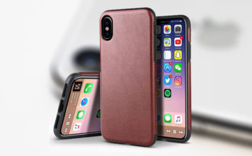 best iphone x leather cases