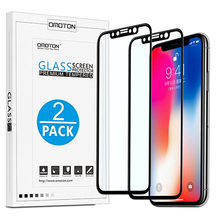 best iphone x screen protector from omoton