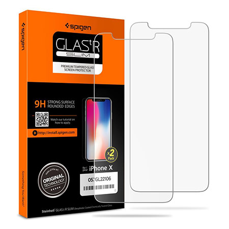 best iphone x screen protector from spigen