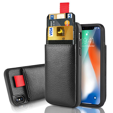 best iphone x wallet case from lameeku