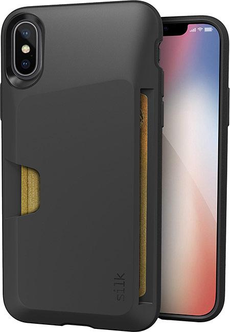best iphone x wallet case from silk