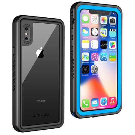 best iphone x waterproof case from lanwow