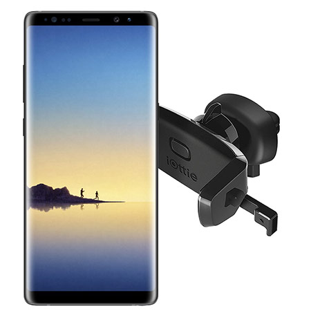 Best Samsung Galaxy Note 8 car mount from iOttie 3
