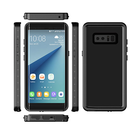 Best Samsung Galaxy Note 8 underwater case from Tronoe