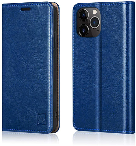 Belemay Wallet Case for iPhone 12 and 12 Pro
