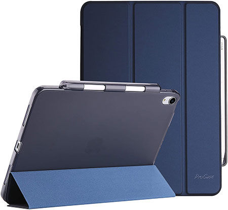 ProCase iPad Air 4 Case with Pencil Holder