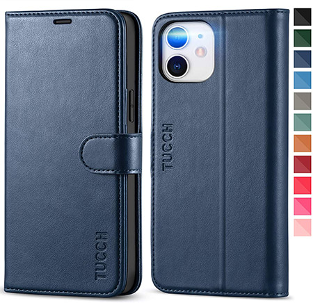 TUCCH iPhone 12 Wallet Case